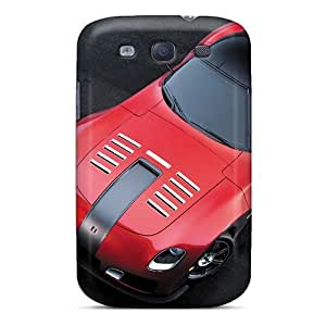 For MichelleNCrawford Galaxy Protective Case, High Quality For Galaxy S3 Devon Gtx Red Skin Case Cover
