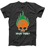 Best TeeShirtPalace Brother Tshirts - TeeShirtPalace Scary Terry Basketball Skull Boston T-Shirt Black Review