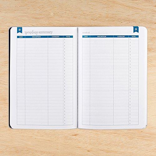 jual erin condren budget book monthly expense planner petite