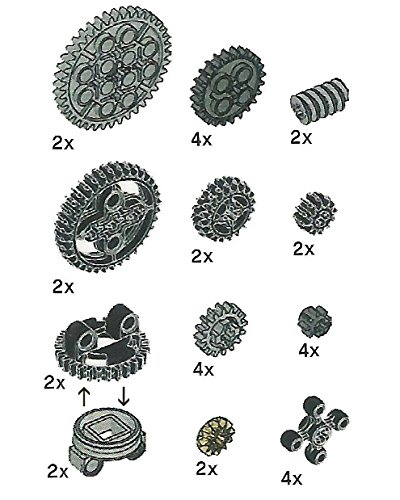LEGO Technic Gears Assortment Pack