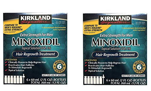 Cent Booklet (Kirkland Minoxidil 5 percent Extra Srength kYPpcC Hair Regrowth For Men, 6 Month Supply, 2 Ounce Bottle, 6 Count (2 Pack))