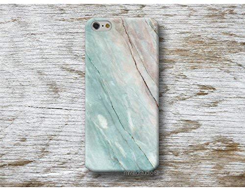 Blau Marmor Hülle Hülle Handyhülle für iPhone X 4 4s 5 5se se 5C 5S 6 6s 7 Plus iPhone 8 Plus iPod 5 6