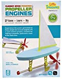 Little Treasures Rubber Band Powered Propeller Engines Educational Kit