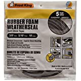 Grey Frost King V445H Vinyl Foam Tape 3//8-Inch