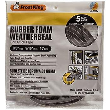 Rubber Foam Weatherseal Self Stick Tape Weather Strip Tape