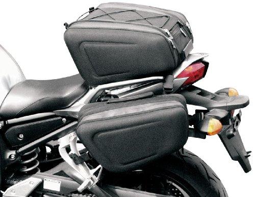 Saddlemen Expandable Standard Sport Saddlebag - 14.5in.L x 8.5in.T x 6in.D X04-05-071