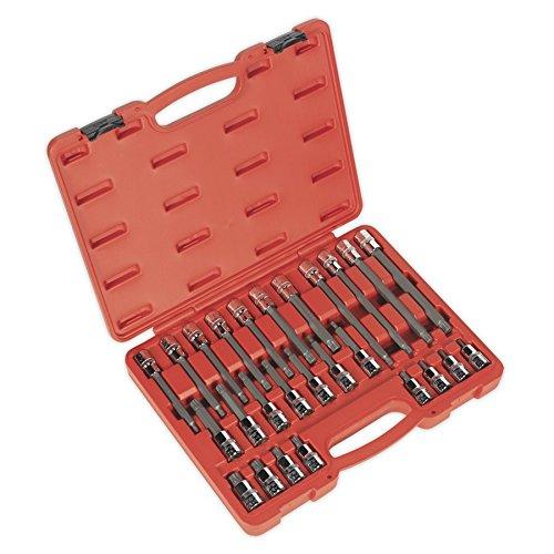 (Sealey Spline Socket Bit Set 26pc 1/2