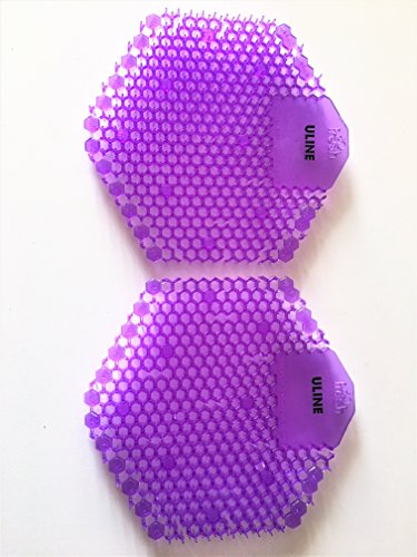 Uline Deluxe Urinal Screen 2-Pack Lavender ()
