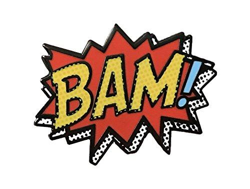(Balanced Co. Comic Enamel Pin BAM! Pin)