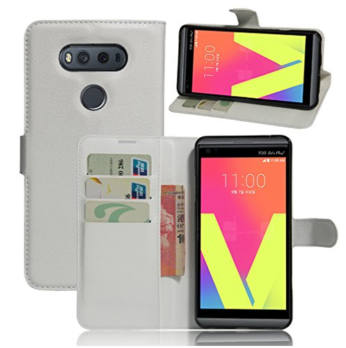 Funda LG V20,Manyip Caja del teléfono del cuero,Protector de Pantalla de Slim Case Estilo Billetera con Ranuras para Tarjetas, Soporte Plegable, Cierre Magnético I