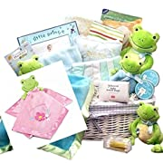 Adorable Frog Themed Baby Gift Set for Girls -Large