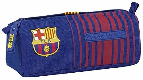 Futbol Club Barcelona FCBarcelona FC Barcelona Estuche portatodo Color Azul y Granate 21 cm SAFTA 811729742