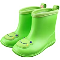Babys Rain Boots Children Waterproof Shoes for Boys Girls