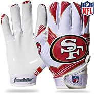 NFL San Francisco 49Ers Youth Receiver Gloves