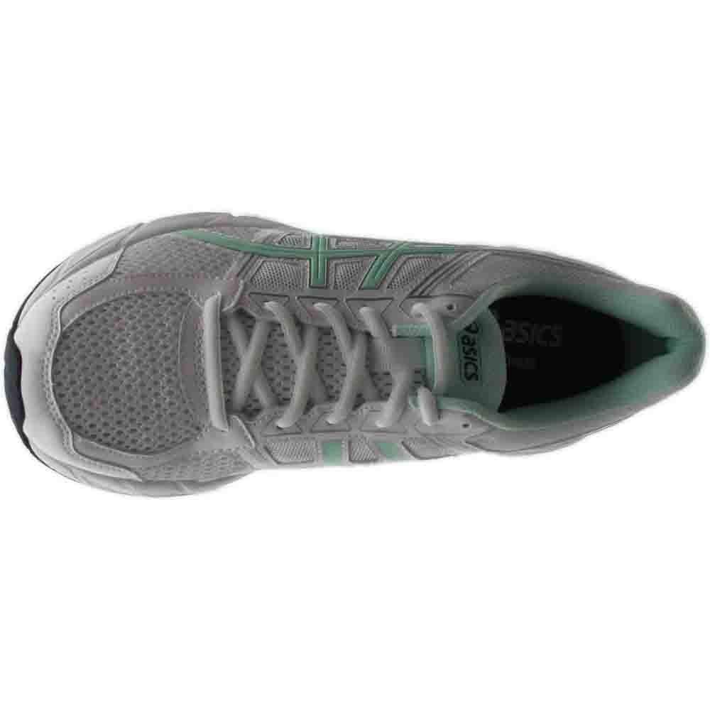 ASICS Women's Gel-Contend 4 Running Shoe, White/Bay/Silver, 5 M US by ASICS (Image #6)