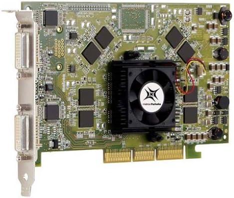 256MB Matrox Parhelia AGP 4x Dual DVI PH-A256