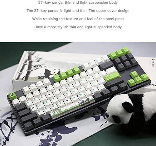 CAPTIANKN (Panda Element) Teclado Mecánico para Juegos con ...