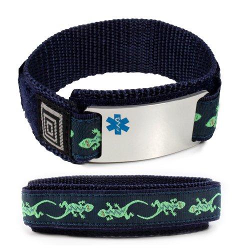 taking-plavix-sport-medical-id-alert-bracelet-with-lizard-velcro-wrist-band