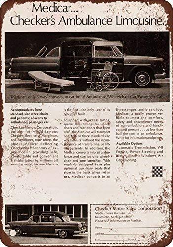 Amazon com: NGFD 1971 Checker ambulancia Limousine aspecto clásico