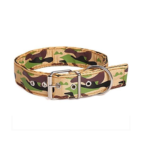 Legendog Camouflage Dog Collar Adjustable Nylon Dog Collar Cat Walking Collar Pet Supplies S Click on image for further info.