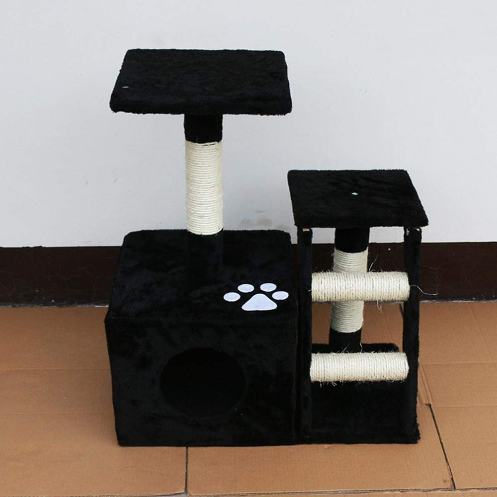 TOUYOUIOPNG Deluxe Multi Level Cat Tree Creative Play Towers Trees for Cats Cat climbing Frame cat Tree cat toy cat House for sleeping Games 60cm 35cm  71cm