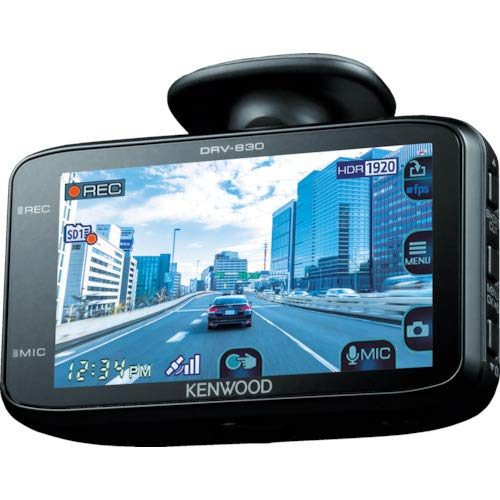 Kenwood DRV - 630 WideQuad - HD Dash Cam