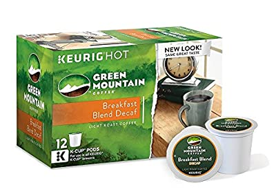 Green Mountain Coffee Hazelnut Decaf, Keurig K-Cups, 72 Count by Green Mountain Coffee
