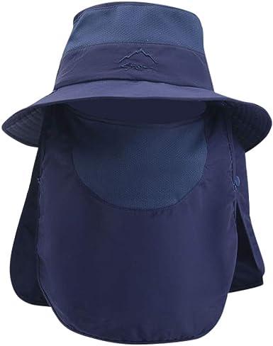 Darringls Sombrero de Paja, Sombrero de Paja Anti-Sol Sombrero de ...