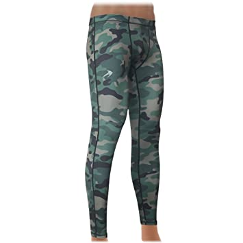 """d62efd7fef7d89 CompressionZ Men's Pants Tights Base Layer Leggings, Best Running/Workout  Extra Large 38.5"""""""