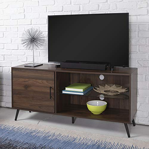 WE Furniture AZ52NORGSDW TV Stand, 52