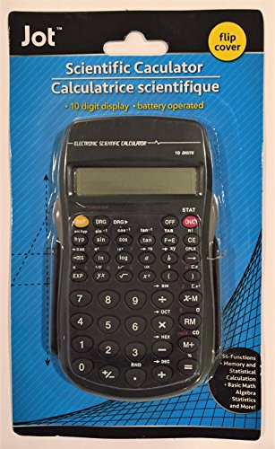 Scientific Calculator with Flip Cover