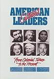 American Cultural Leaders, Bill McGuire and Leslie Wheeler, 0874366739