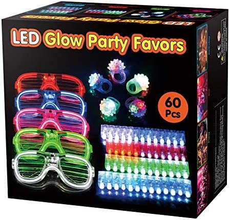 BATTOP Favors Supplies Flashing Glasses product image