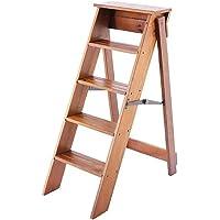 Taburete Plegable de Madera Escalera de Madera