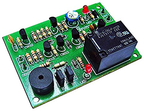 automatic on off water pump 12vdc alarm buzzer 240v electronic