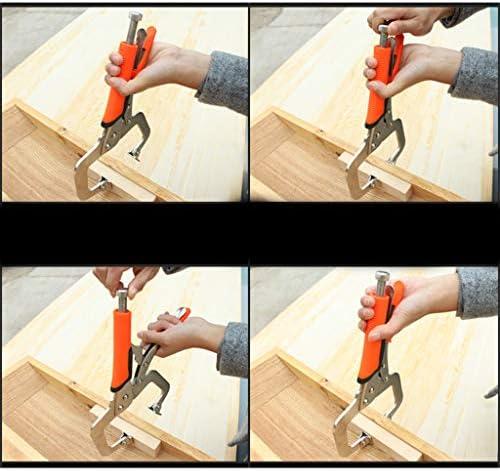 6-18インチロックCクランプ調整可能プライヤーグリップとスイベルパッドバイスジョー - 11インチ