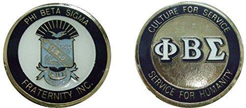 - PHI Beta Sigma Fraternity - Sorority Challenge Coin / Logo Poker / Lucky Chip
