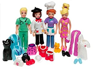 Amazon.com: Polly Pocket Cool Careers Gift Set: Toys & Games