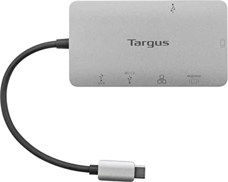 Network Wired USB Type C Targus DOCK419USZ Docking Station VGA RJ-45 100 W for Notebook 3 x USB Ports - HDMI