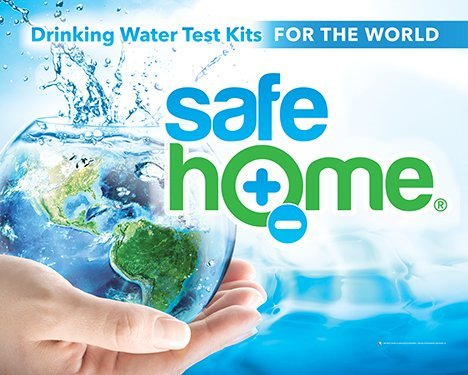 Safe Home LEAD Drinking Water Test Kit (Two Certified Lab Tests/Kit)