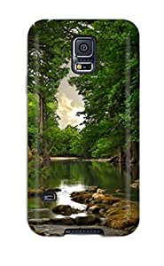 Defender Case For Galaxy S5, River Shot Pattern