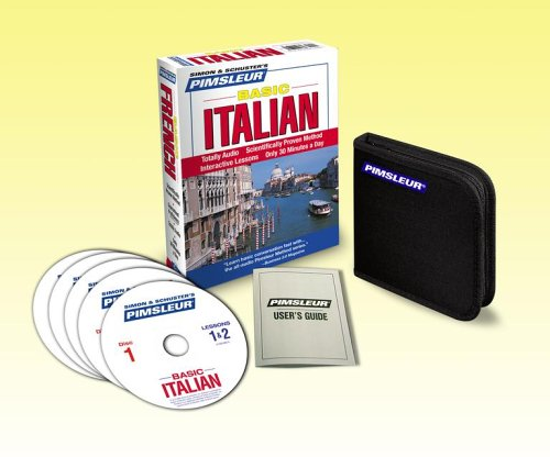 Pimsleur Italian Basic Course - Level 1 Lessons 1-10 CD: Learn to Speak and Understand Italian with Pimsleur Language Programs by Brand: Pimsleur (Image #1)