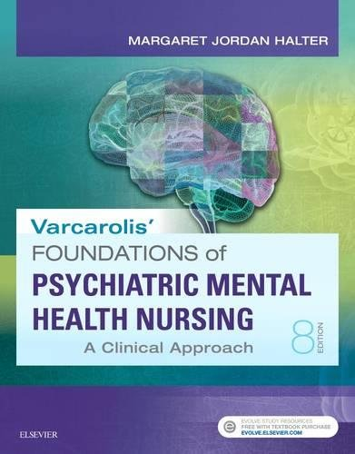 Varcarolis' Foundations of Psychiatric-Mental Health Nursing: A Clinical Approach, 8e cover