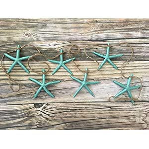 514M56ZuqGL._SS300_ Beachy Starfish and Seashell Garlands