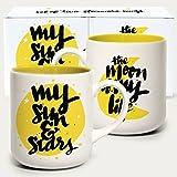 Matthew Taylor Wilson Graphic Boxed Mug - Moon and Stars by Matthew Taylor Wilson