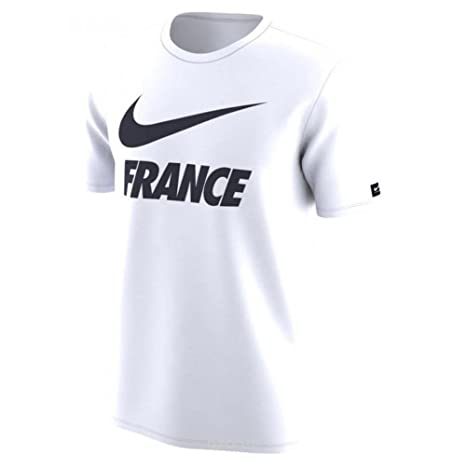 grossiste ae2d9 5a7d0 Nike 2018-2019 France Dry Pre-Season Tee (White)