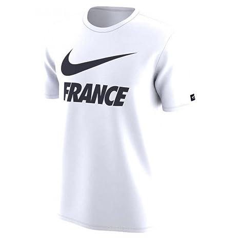 8b7f0c479b712 Amazon.com   Nike 2018-2019 France Dry Pre-Season Tee (White ...