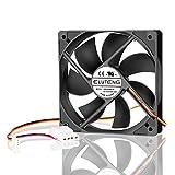 ELUTENG Cooler 120mm Fan 3 Pin or 4 Pin 12V Cooling Fan 1600RPM 12cm Case Fan Quiet 120mm Radiator for PC Case