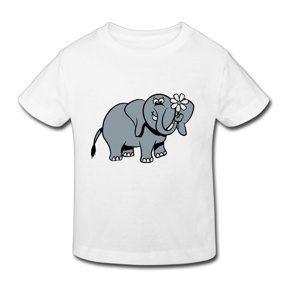 Wiongh Opp Party Short Sleeve Tshirt Elephant Sweet Funny Childrens//Toddler For Girls-Boy