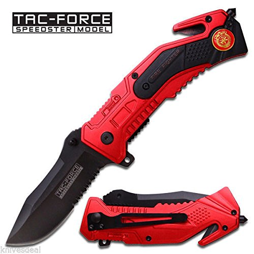 New Spring Assist - 'Legal Auto Eco'Gift LIMITED EDITION Knife with Sharp Blade' - Tactical Firefighter Rescue - Firefighter Auto